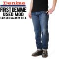 Denime ドゥニーム FirstDenime/ファーストドゥニーム テーパードナロウフィットA USED デニム【D16SS-045】