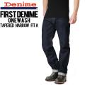 Denime ドゥニーム FirstDenime/ファーストドゥニーム テーパードナロウフィットA One Wash デニム【DM15AW-143】