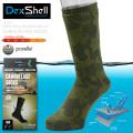 DexShell デックスシェル DS736 ウォータープルーフ・ブリーザブル CAMOUFLAGE ミッドカーフソックス(メリノウール)