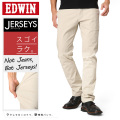 EDWIN エドウィン ERK003 ジャージーズ チノストレート アイボリー(34)