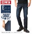 EDWIN エドウィン E STANDARD 360°モーションテーパード EDM32-126(濃色ブルー)