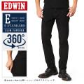 EDWIN エドウィン E STANDARD 360°モーションテーパード EDM32-101(ブラックデニム)