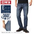 EDWIN エドウィン E STANDARD 360°モーションテーパード EDM32-146(中色ブルー)
