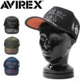 AVIREX アビレックス CM LOGO メッシュキャップ【GA14370700】