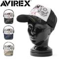AVIREX アビレックス US ARMY ヴィンテージ加工 TWILL メッシュキャップ【GA17892800】