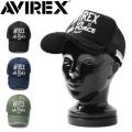 AVIREX アビレックス US AIR FORCE 立体刺繍 TWILL メッシュキャップ【GA17892900】
