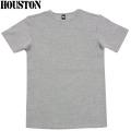 HOUSTON ヒューストン デイリーウエア パックT-Shirt クルーネック グレー
