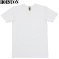 HOUSTON ヒューストン デイリーウエア パックT-Shirt Vネック ホワイト
