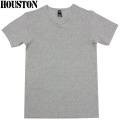 HOUSTON ヒューストン デイリーウエア パックT-Shirt Vネック グレー