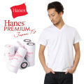 Hanes �إ��� HM1-F002 PREMIUM JAPAN FIT V�ͥå� T����� WHITE��