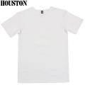 HOUSTON ヒューストン デイリーウエア パックT-Shirt クルーネック ホワイト