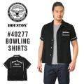 HOUSTON ヒューストン 40277 BOWLING MILWAUKEEシャツ