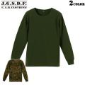 【クーポン対象外商品】C.A.B.CLOTHING J.G.S.D.F. 自衛隊 サーマル長袖Tシャツ [2519]