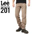Lee リー AMERICAN STANDRD 201 ウエスターナー サテン ストレート パンツ ソフトブラウン(127)