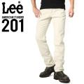 Lee リー AMERICAN STANDRD 201 ウエスターナー サテン ストレート パンツ サンドベージュ(151)