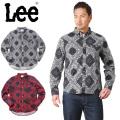 Lee リー LT0591 L/S ボタンダウン シャツ ペイズリー