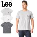 Lee リー LT2187 ネオンサイン プリント ポケット Tシャツ