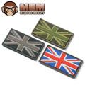 MIL-SPEC MONKEY ミルスペックモンキー パッチ(ワッペン)British Flag PVC