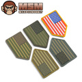 MIL-SPEC MONKEY ミルスペックモンキー パッチ(ワッペン)US Flag Vertical Shield PVC