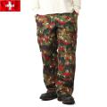 実物 新品 スイス軍M-83フィールドパンツ アルペンカモ 表記44サイズ