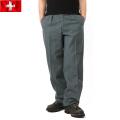 実物 スイス軍サイドライン ウールパンツ