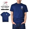 ROTHCO ロスコ NYPD オフィシャル エンブレム トレーニングTシャツ【6656】