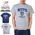 ROTHCO ロスコ NYPD オフィシャル トレーニングTシャツ2色