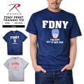ROTHCO ロスコ FDNY オフィシャル トレーニングTシャツ2色