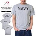 ROTHCO ロスコ MILITARY トレーニング用 グレーTシャツ3タイプ