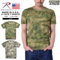 ROTHCO ロスコ MADE IN U.S.A. A-TACS CAMO トレーニング用Tシャツ2色