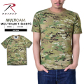 ROTHCO �?�� 6286 MADE IN U.S.A. MULTICAM �ȥ졼�˥���T�����