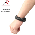 ROTHCO �?�� �ѥ饷�塼�ȥ����� �֥쥹��å� BLACK W/REFLECTIVE TRACERS