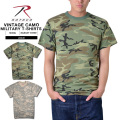 ROTHCO ロスコ VINTAGE CAMO トレーニング用Tシャツ2色