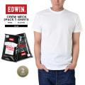 EDWIN エドウィン 449404 2パック クルーネックTシャツ2色