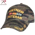 ROTHCO ロスコ Deluxe Low Profile Vietnam Veteran Insignia Cap Tiger Stripe 【9494】