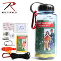 ROTHCO �?�� WATER BOTTLE SURVIVAL KIT�ʥ����������ܥȥ� ���Х��Х륭�åȡ�52720