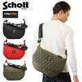 Schott ����å� 3169006 NYLON PADDED BANANA BAG