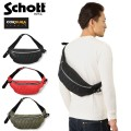 Schott ����å� 3169007 NYLON PADDED BODY BAG