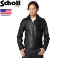 Schott ショット 7209 103US TRUCKER レザージャケット ブラック