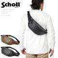 Schott ショット 3109023 パデッドレザーボディバッグ