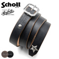 Schott ショット 3129046 PERFECTO BELT NARROW レザーベルト