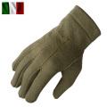実物 新品 イタリア軍 AF ウールグローブ オリーブ
