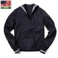 実物 新品 米海軍 ウール セーラーシャツ