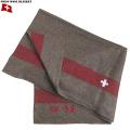新品 スイス軍ウールブランケット(毛布)