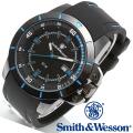 【キャンペーン対象外】 Smith & Wesson スミス&ウェッソン TROOPER WATCH 腕時計 BLUE/BLACK SWW-397-BL