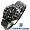 【キャンペーン対象外】 Smith & Wesson スミス&ウェッソン SWAT WATCH 腕時計 BLACK SWW-45M