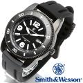 【キャンペーン対象外】 Smith & Wesson スミス&ウェッソン PARATROOPER WATCH 腕時計 BLACK SWW-5983