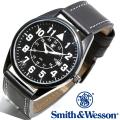 【キャンペーン対象外】 Smith & Wesson スミス&ウェッソン CIVILIAN WATCH 腕時計 BLACK SWW-6063