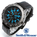 【キャンペーン対象外】 Smith & Wesson スミス&ウェッソン CALIBRATOR WATCH 腕時計 BLUE/BLACK SWW-877-BL