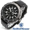 【キャンペーン対象外】 Smith & Wesson スミス&ウェッソン CALIBRATOR WATCH 腕時計 WHITE/BLACK SWW-877-WH